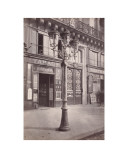 Street Lamp  8 Place de LOp&#233;ra  circa 1870-1879
