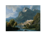 Italian Landscape  18th- 19th century