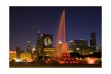 Chicago Black Hawks Skyline