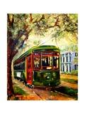 New Orleans St Charles Streetcar Giclée par Diane Millsap