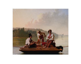 Boatmen on the Missouri  1846
