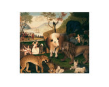 The Peaceable Kingdom  circa 1846