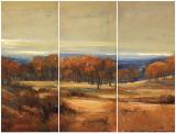 Golden Horizon Triptych