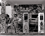 Hippie Gas Station  1971