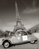 2CV with Eiffel Tower