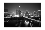 Austin Skyline 2010 B/W