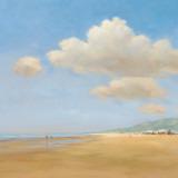 Strandwandeling Reproduction d'art par Jan Groenhart