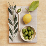 Olive and Lemon