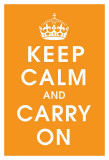 Keep Calm (orange)