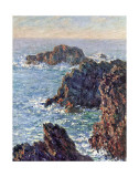 Rock Points at Belle-Ile  c1886