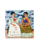 The Two Fridas, c.1939 Reproduction d'art par Frida Kahlo