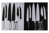 Knives  c1982 (Silver and Black)