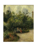 Corner of a Garden at the Hermitage  c1877