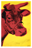 Cow, c.1966 (Yellow and Pink) Reproduction d'art par Andy Warhol