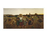 The Return of the Gleaners  c1859
