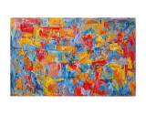 Carte Reproduction d'art par Jasper Johns