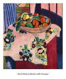 Basket with Oranges Reproduction d'art par Henri Matisse