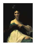 Portrait of Countess de Keller (Marquise de Saint Yves d'Alveydre)  c1873