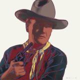 Cowboys and Indians: John Wayne 201/250, 1986 Reproduction d'art par Andy Warhol