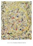 Shimmering Substance, c.1946 Reproduction d'art par Jackson Pollock