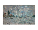 The Sailboats - Boat Race at Argenteuil  c c1874