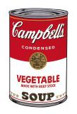 Campbell's Soup I: Vegetable, c.1968 Reproduction d'art par Andy Warhol