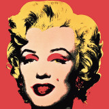Marilyn  1967 (On Red)