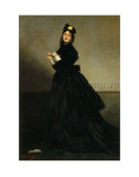 Lady with a Glove  Madame Carolus-Duran nee Pauline Croizette  c1869