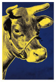 Cow, c.1971 (Blue and Yellow) Reproduction d'art par Andy Warhol