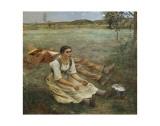 Hay Harvest  c1877