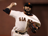 Texas Rangers v San Francisco Giants  Game 1: Sergio Romo