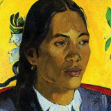 Woman With Flower (detail)