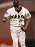 Texas Rangers v San Francisco Giants  Game 1: Santiago Casilla
