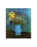 Vase with Lilacs, Daisies and Anemone Reproduction d'art par Vincent Van Gogh