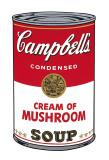 Campbell's Soup I: Cream of Mushroom, c.1968 Reproduction d'art par Andy Warhol
