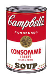 Campbell's Soup I: Consomme  c1968