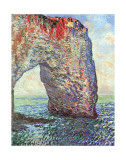 The Manneporte near Etretat  c1886