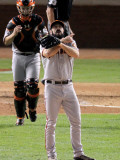 San Francisco Giants v Texas Rangers  Game 4: Brian Wilson Buster Posey