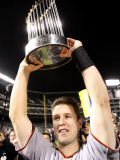 Texas Rangers v San Francisco Giants  Game 5:  Buster Posey