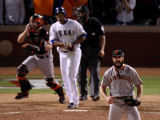 Texas Rangers v San Francisco Giants  Game 5:  Brian Wilson
