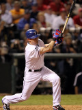 Texas Rangers v San Francisco Giants  Game 5:  Michael Young