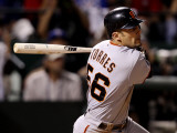 San Francisco Giants v Texas Rangers  Game 4: Andres Torres