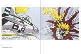 Whaam (Diptich-Two Panels)
