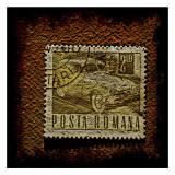 Roman Car Stamp