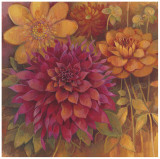 Autumn Dahlias I