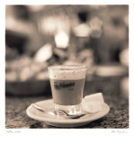 Caffe, Lucca Reproduction d'art par Alan Blaustein