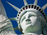 Close-Up of the Statue of Liberty Replica