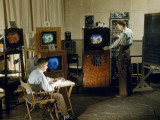 Researchers Test Color Balance on a New Invention  a Color Television