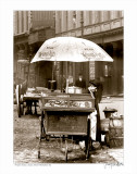 Pretzel Vendor  Duane Street  Manhattan  c1918
