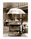 Pretzel Vendor  Duane Street  Manhattan  c1918